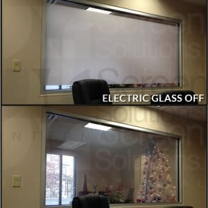 Electric Glass Film On and Off Switchable Privacy