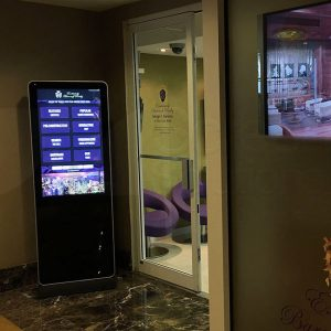 Real Estate Touch Screen Display Indoor Kiosk
