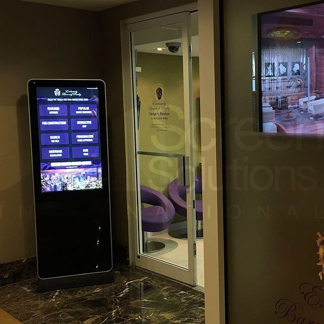 SSI Indoor Touch Kiosk