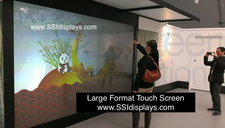 Large Format Touch Frame