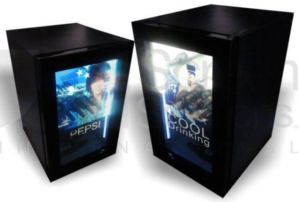 Transparent LCD Screen Fridge Refridgerator