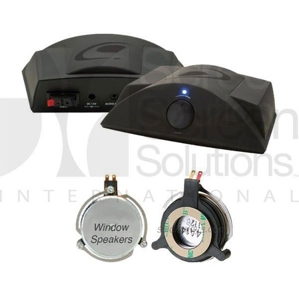 Window Speakers for any glass surface