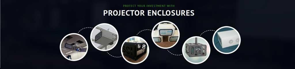 Custom projector enclosure options