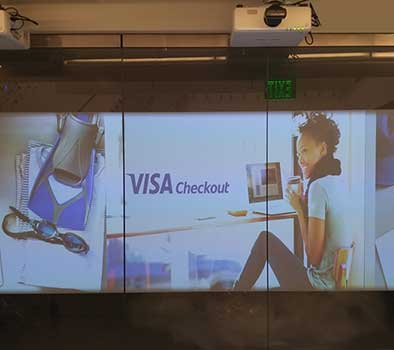 Visa Front Projection Film Project Profile